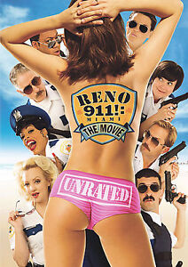 Reno 911: Miami (DVD, 2007, Unrated)