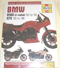 Haynes  Manual BMW K K100 1983-92 & K75 1985-96