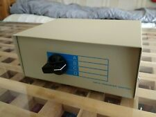 4 Way VGA SVGA 5 Pin DIN Splitter Switcher Box 4 Port