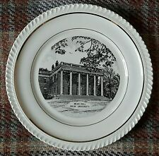 Mead Hall Drew University Norsid Ceramics Decorative Collectors Plate