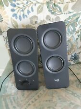 Logitech Z207 bluetooth speakers