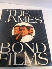 Vintage 1981 The James Bond Films Book Detailed History Of The James Bond Film