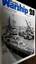 PROFILE WARSHIP #28: USS INDIANAPOLIS (CA 35) HEAVY CRUISER 1932-1945 (1973)