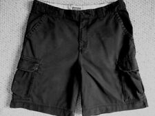 """Merona Men's Black Cargo Bermuda Shorts 38"""" Waist"""