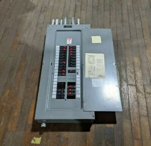 Westinghouse 3-30-42 Main Lug Load Center 200A Max 120/208V 3PH Type 1 Encl 4W