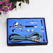 1 Set Action Air Brush Spray Gun Airbrush Kit Needle Nail Art Paint Tool 0.3mm