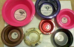 Platinum Pets Variety Lot of Bowls (Lot of 15)