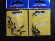 GRAUVELL Nº 14 - 6 KG   WIRBEL / EMERILLONES / ÉMERILLONS / SWIVELS / GIRELLE