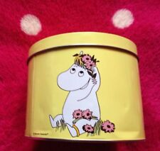 Moomin 'Muumi' Tin Can Yellow Snork Maiden Design By Martinex Collectable