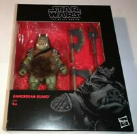 STAR WARS GAMORREAN GUARD BLACK SERIES 6 INCH DELUXE ACTION FIGURE MINT RARE NEW
