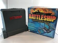 Electronic Battleship Advanced Mission Board Game Hasbro MB Complete