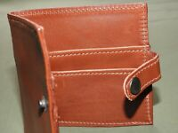US Army AAF WW2 EASTMAN OFFICER ROUGH WEAR A-2 RUSSET HORSEHIDE LEATHER WALLET