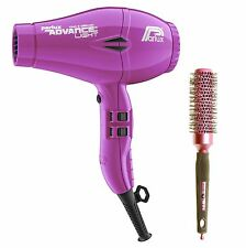 Parlux Advance Light Ionic and Ceramic Hair Dryer Purple + Free Brush
