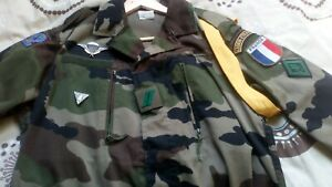 French Foreign Legion 2rep Para ccl company F2 Cce Combat Jacket Size 120/44-48