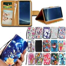 Flip Leather Smart Stand Wallet Cover Case For Samsung Galaxy SmartPhones