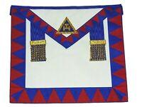 New Masonic Regalia Lambskin Leather Holy Royal Arch Provincial Apron RA Chapter