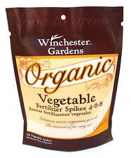 Winchester Gardens, 50 count, Organic Vegetable Fertilizer, 4-6-6
