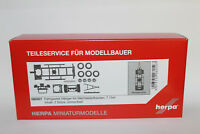 Herpa 080507 Hängerfahrgestell für Wechselaufbau 2achs 1:87 H0 NEU in OVP