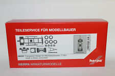 Herpa 080507 Trailer Chassis for Swap Body Dual Axis 1:87 H0
