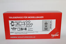 Herpa 080507 Trailer Chassis for Swap Body Dual Axis 1:87 H0 New Original