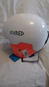 Shred Basher Noshock Wipeout Ladies Snow skiing helmet white/pink Large