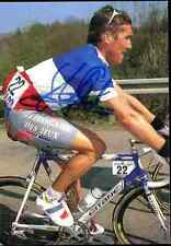 STEPHANE HEULOT FRANCAISE DES JEUX Autograph cycling cyclisme CHAMPION FRANCE
