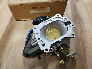 NOS NEW OEM Nissan Throttle Body 720 Z24I Pickup Truck 2.4L 4Cyl 1985 1986