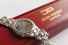 Watch / Montre Jean Perret Genève SWISS MADE Stainless Steel Sapphire Crystal