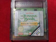 DISNEY'S THE JUNGLE BOOK MOWGLI'S WILD ADVENTURE NINTENDO GAME BOY COLOR GBA