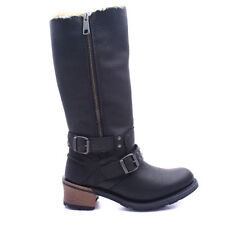 Block Wide (E) Casual Boots for Women