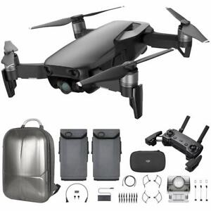 DJI Mavic Air Quadcopter w/ Remote Controller - Onyx Black + Battery + Backpack