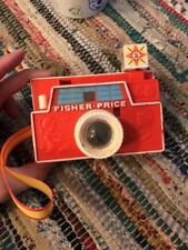 Vintage 1968 ~ Fisher Price  Picture Camera  with Strap&1disc Read Description