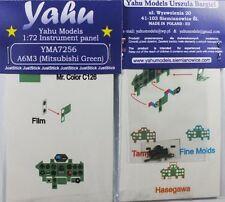 Yahu Models YMA7256 1/72 PE Mitsubishi A6M3 Zero GREEN Instrument Panel