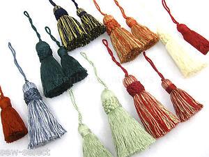 Traditional key tassel Large & small multi variation listing Fabric sewing trim