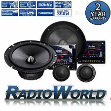 """Clarion SRP1723S 6.5"""" 2-Way Component Speakers System Set Car Audio 350W"""