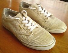 GOLD SPARKLY VANS TRAINERS SIZE 5 EUR 38