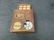 National nationale cash register kassa kasse 1898 National Co. Dayton Ohio USA