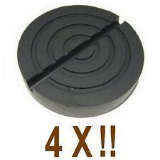 4 Xbloc de caoutchouc D.139 mm pour Pont elevateur AGM -CORGHI - Italie -tampons