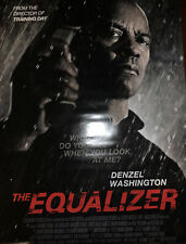 The Equalizer Movie Poster 27x40