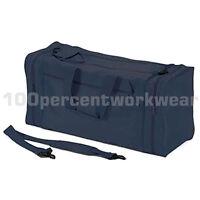 Aqua Navy Blue Jumbo 80 Litre Holdall Large Bag with Shoulder Strap Travel Gym