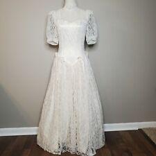 New listing Vintage Gunne Sax by Jessica McClintock High Neck Lace Dress