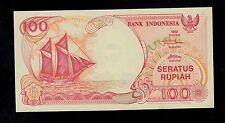 INDONESIA  100  RUPIAH  1992/1995  AQF   PICK # 127d  UNC LESS.