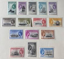 FALKLAND ISLANDS  1L19 - 1L33  Beautiful Mint  Set  QEII  Ships  AG