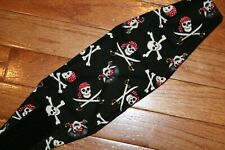 Male dog diaper-belly band-wrap-britches-quilted-PIRATES by angelpuppi