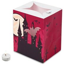 CANDLE BAGS PURPLE HALLOWEEN  - 5 Pack