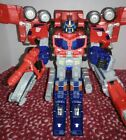 Transformers Cybertron Galaxy Force 2004 Leader Optimus Prime 96% Complete