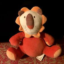 H# DOUDOU PELUCHE LION ORANGE ROUGE 29 CM MARESE  SOFT TOY