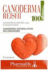 PHARMALIFE Ganoderma Reishi 100% 45 Compresse PROMO LAST MINUTE