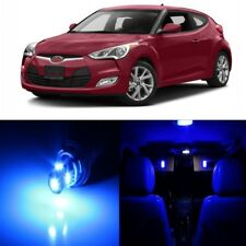 10 x Blue Interior LED Lights Package For 2012 - 2017 Hyundai Veloster +TOOL