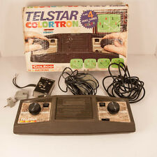 Vintage 1978 Coleco Telstar Colortron Pong Console with Box - Untested